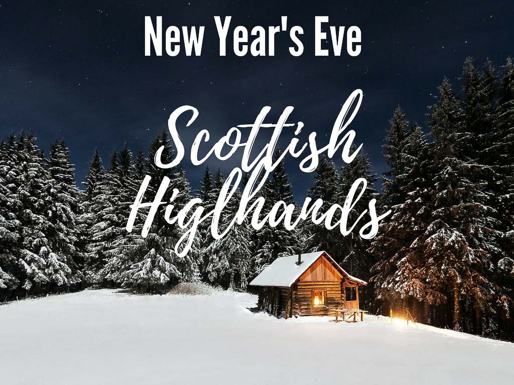 New Year's Eve in Scotland - cottage in the Scottish Highlands #Scotland #Highlands