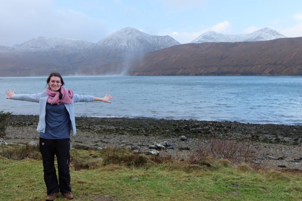 New Year's Eve in Scotland Highlands Isle of Skye