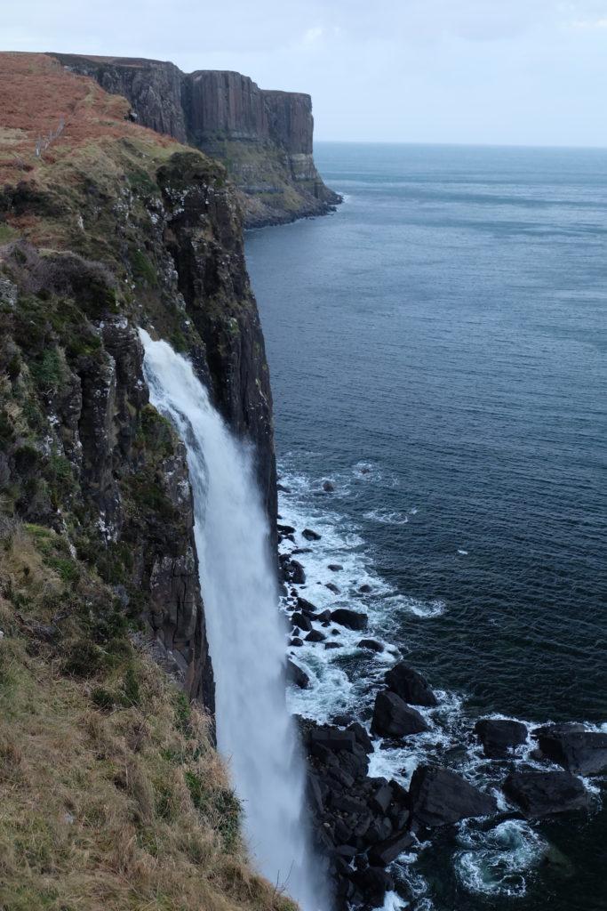 New Year's Eve in Scotland Highlands Isle of Skye Kilt Rock