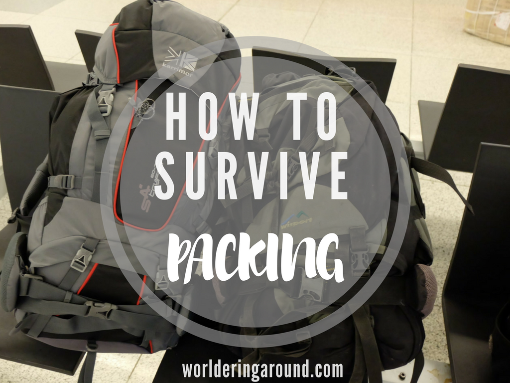 how to survive packing