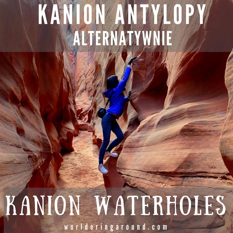 Kanion antylopy alternatywnie