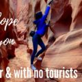 Free Antelope Canyon alternative with no tourists