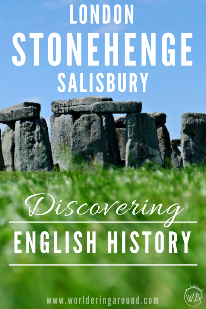 Discovering English history Stonehenge London Salisbury