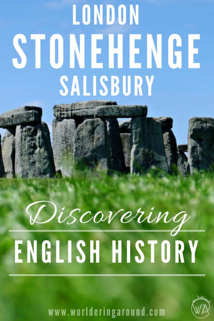 Discovering English history Stonehenge London Salisbury