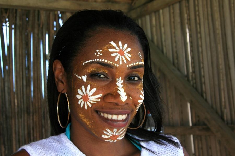 Madagascan girl Nosy Diego