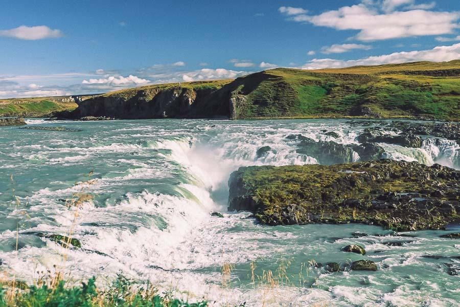 Iceland road trip itinerary Urridafoss