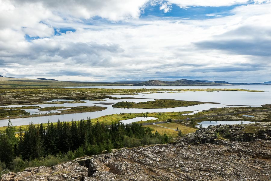 Thingvellir National Park 7 days in Iceland road trip itinerary