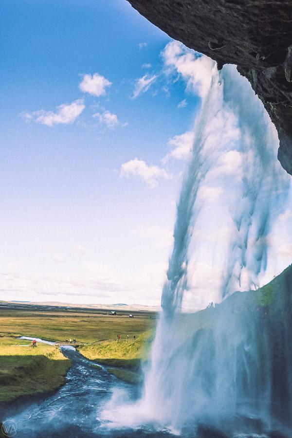 Seljalandsfoss Iceland road trip itinerary