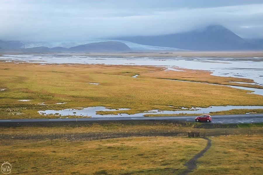 Iceland itinerary in 7 days and our car for the Iceland road trip