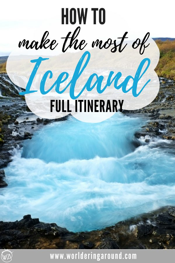 How to make the most of your Iceland travel? Check out this 7 days Iceland itinerary with Iceland hidden gems and top sights in Iceland, as well as useful Iceland travel tips! | Worldering around #Iceland #Reykjavik #Europe #travel #itinerary #roadtrip #Icelandtravel
