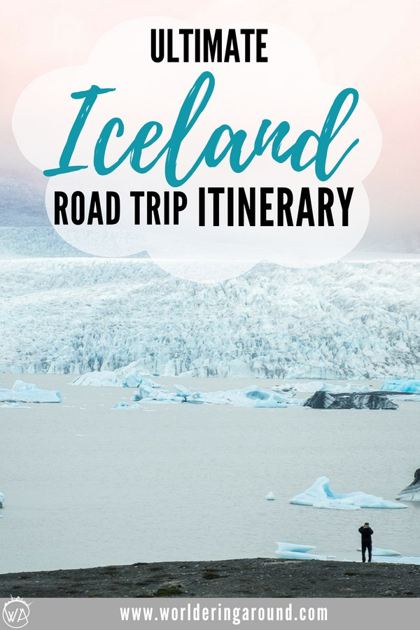 Ultimate Iceland road trip itinerary with descriptions, pictures and maps, covering must-see sights in Iceland and off the beaten path locations. Iceland 7 days   Worldering Around #Iceland #Icelandroadtrip #roadtrip #Icelanditinerary #itinerary #europe