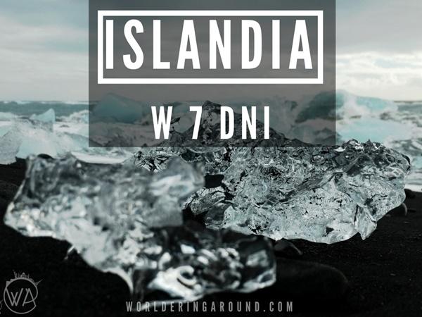 Co robić na Islandii przez tydzień?