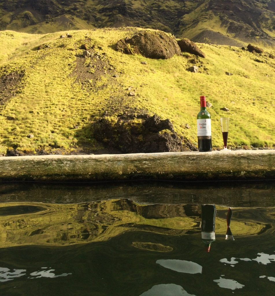 Iceland hot pools
