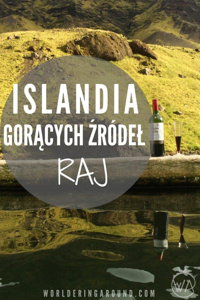 Islandia gorących źródeł raj