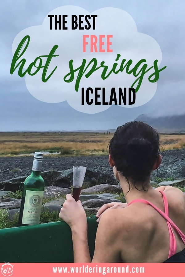 The best and free hot springs in Iceland, explore the best places for Iceland hot pools, better than a Blue Lagoon | Worldering around #Iceland #travel #hotsprings #hotpools