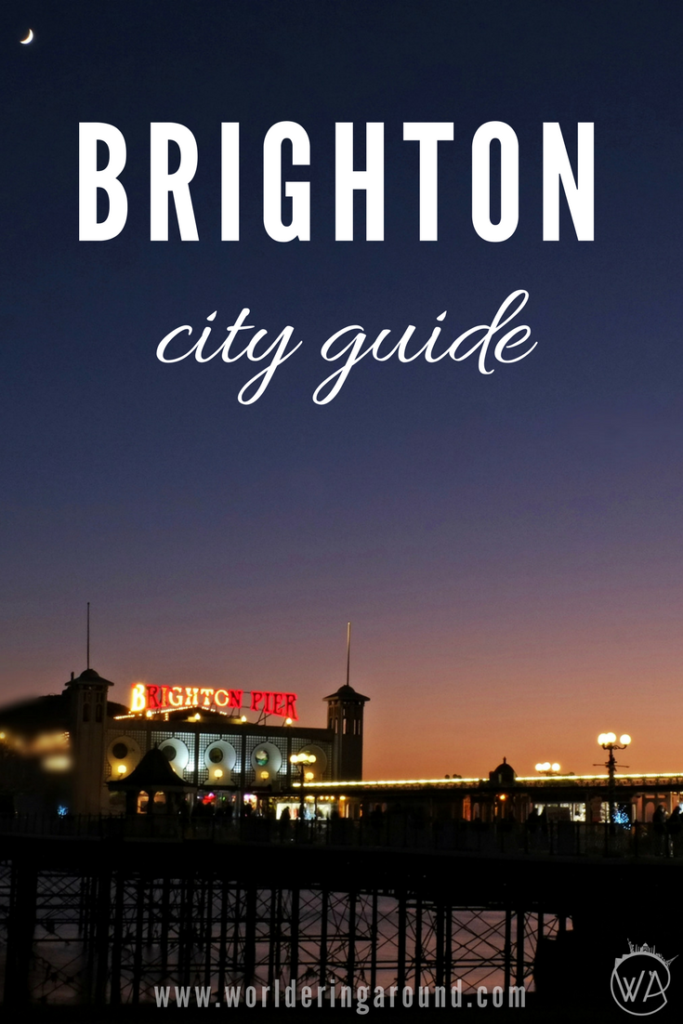 The best Brighton one day trip guide. Find out what to do in Brighton for a day and have amazing day out in Brighton with this city guide | Worldering around #Brighton #UK #Europe #travel #cityguide