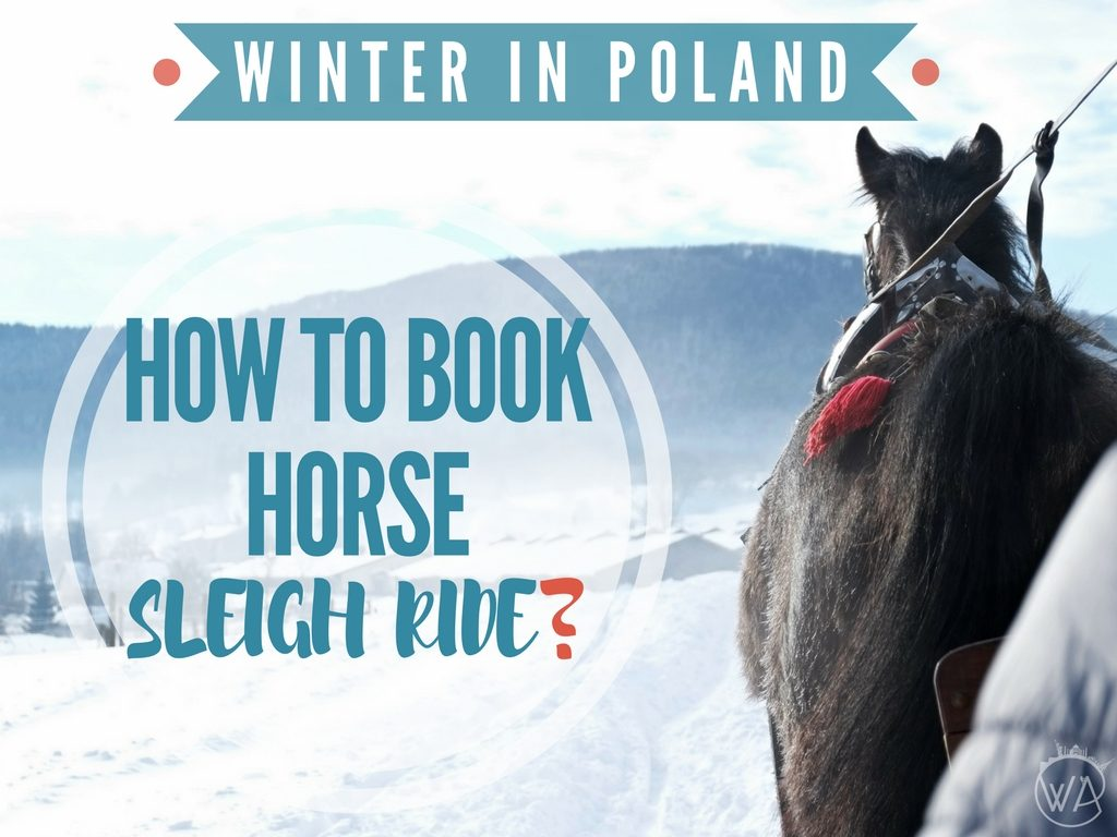 HOW TO BOOK HORSE SLEIGH RIDE