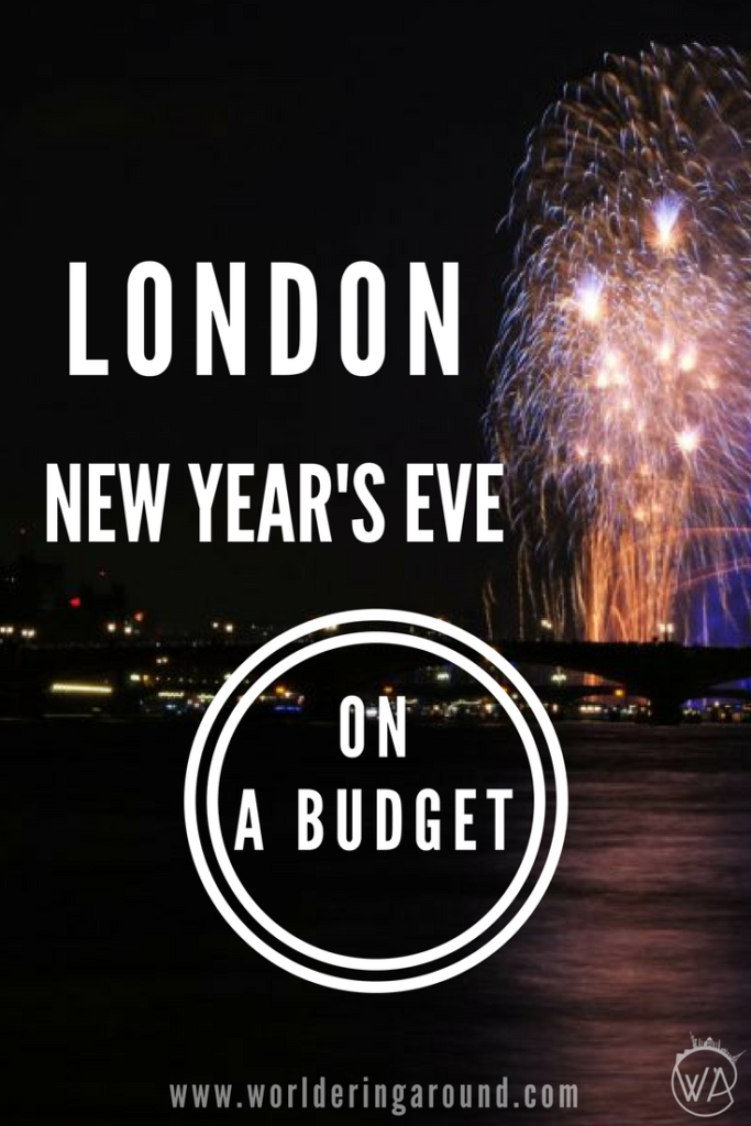 London new year's eve on a budget