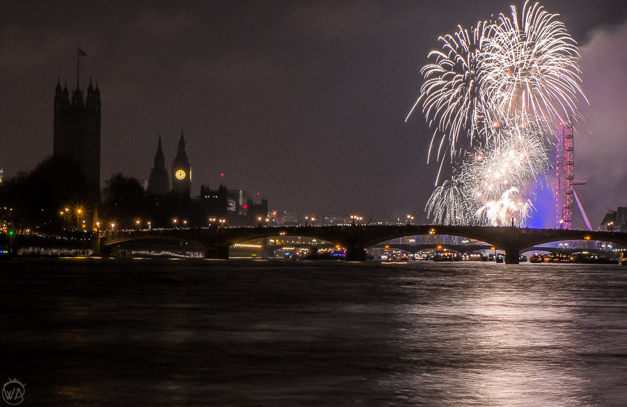 London New Year's Eve on a budget - where to watch fireworks for free