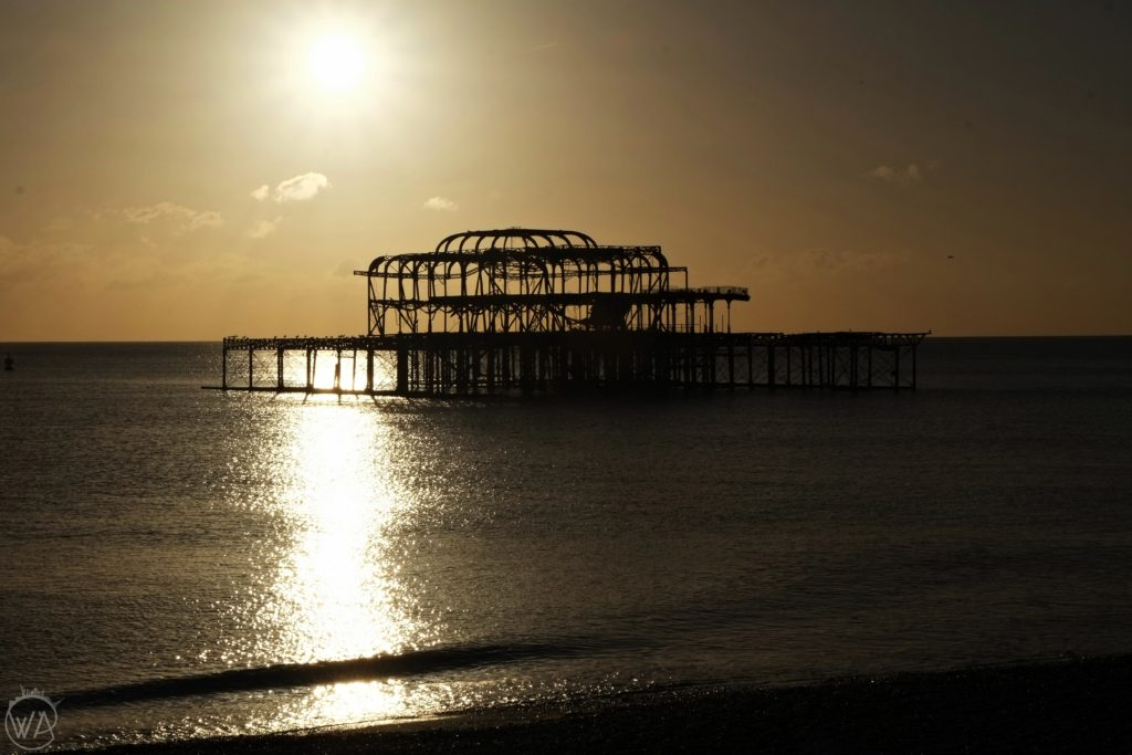View from the Brighton Beach, have a great day in Brighton