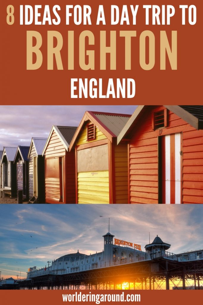 Find the best things to do in Brighton, England, UK. Ultimate one day Brighton itinerary for a London day trip. What to do in Brighton in one day, Brighton one day trip, the best of Brighton in one day. Brighton England UK, things to do in Brighton in one day, Brighton beach, Brighton Pier, Brighton nightlife, top things to do in Brighton | Worldering Around #Brighton #England #UK #London #travel