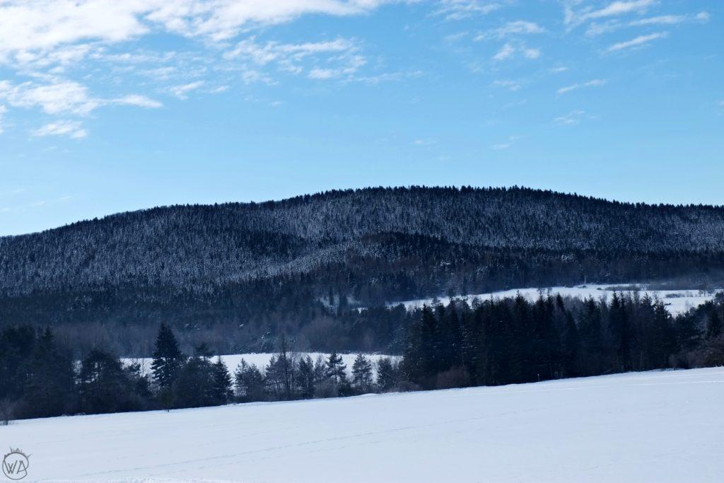 Winter in Beskid Niski