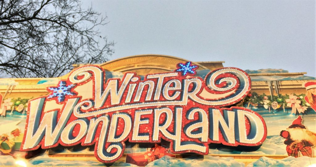 London New Year's eve on a budget - Winter Wonderland