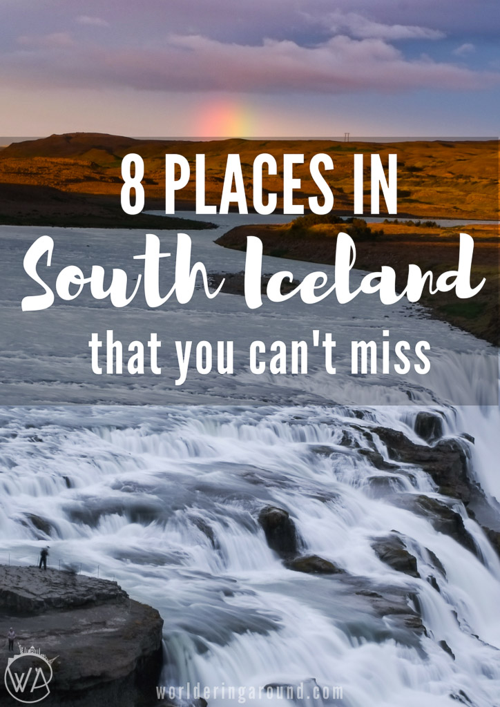 8 places in south Iceland that you can't miss. Discover those Icelandic must-sees with the best waterfalls, hot springs and glaciers in Iceland