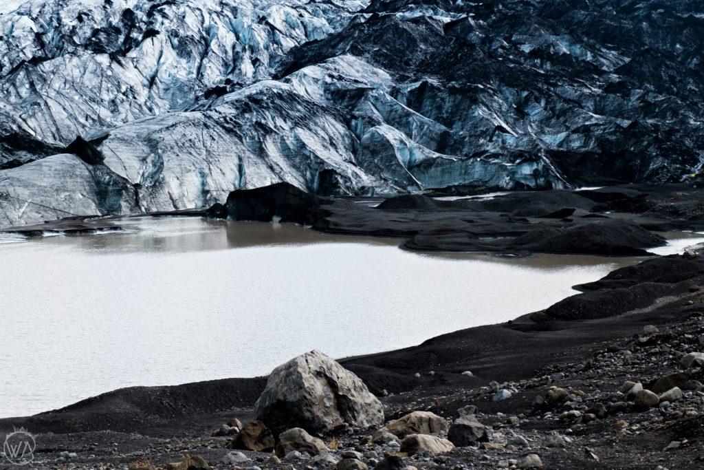 Skaftafell glacier