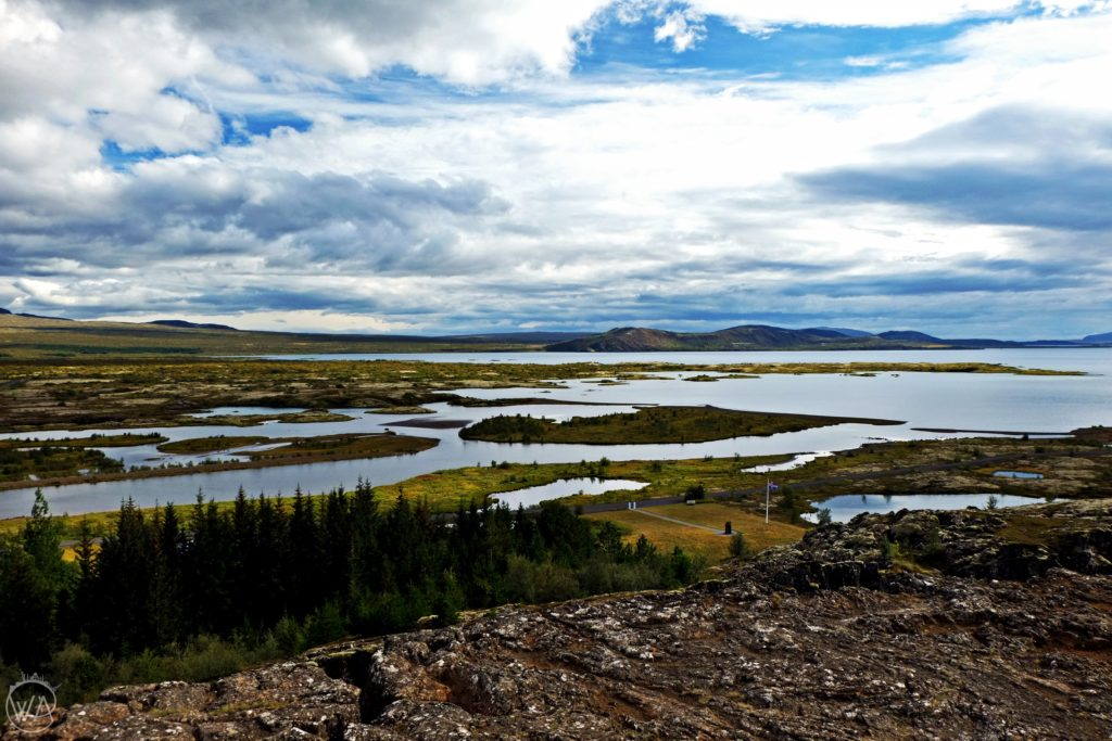 Top South Iceland attractions you can't miss - View to Pingvellir