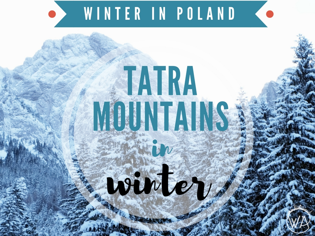 Tatra mountains in winter