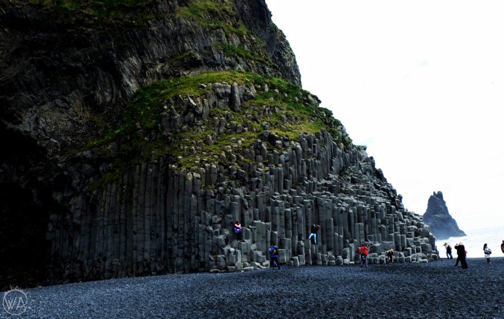 Reynisfjara black beach cave
