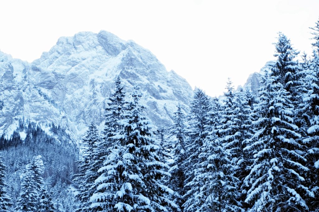 Giewont view - Things to do in Zakopane in winter and Tatra mountains hiking in winter