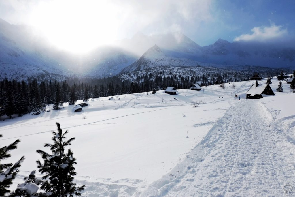 Hala Gasienicowa, winter in Zakopane
