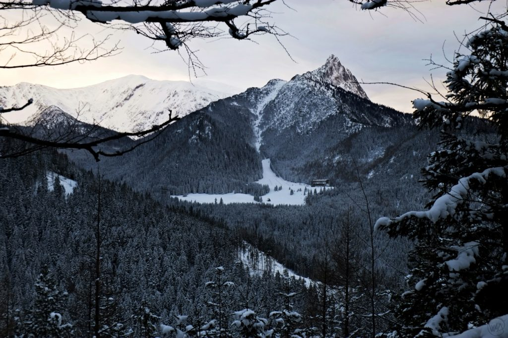 Tatra mountains view - best things to do in Zakopane in winter and Tatra mountains winter hiking