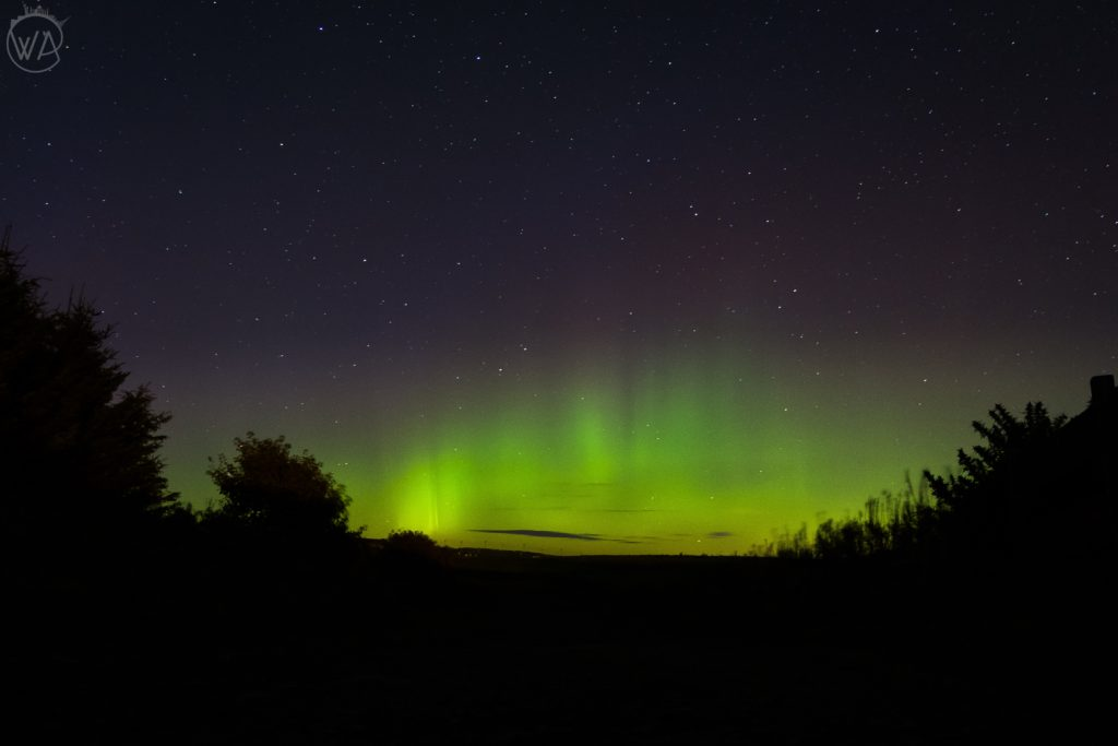 Northern lights in scotland