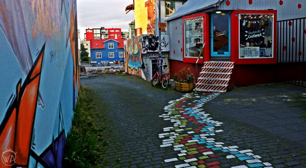 Reykjavik colourful streets