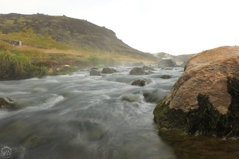 Iceland hidden gems - Hveragerði hot river - Iceland off the beaten path road trip itinerary