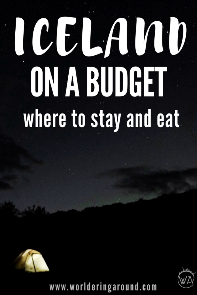 Iceland on a budget where to stay and eat
