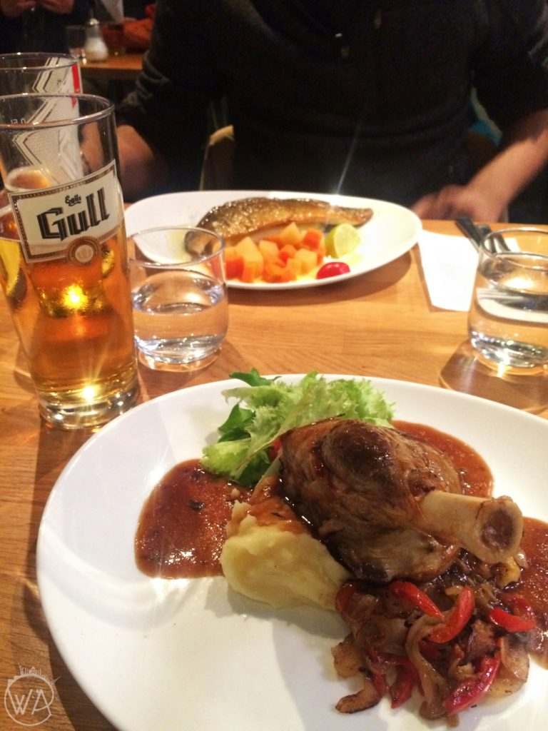 Kuchnia islandzka Islandia jedzenie - Lamb leg