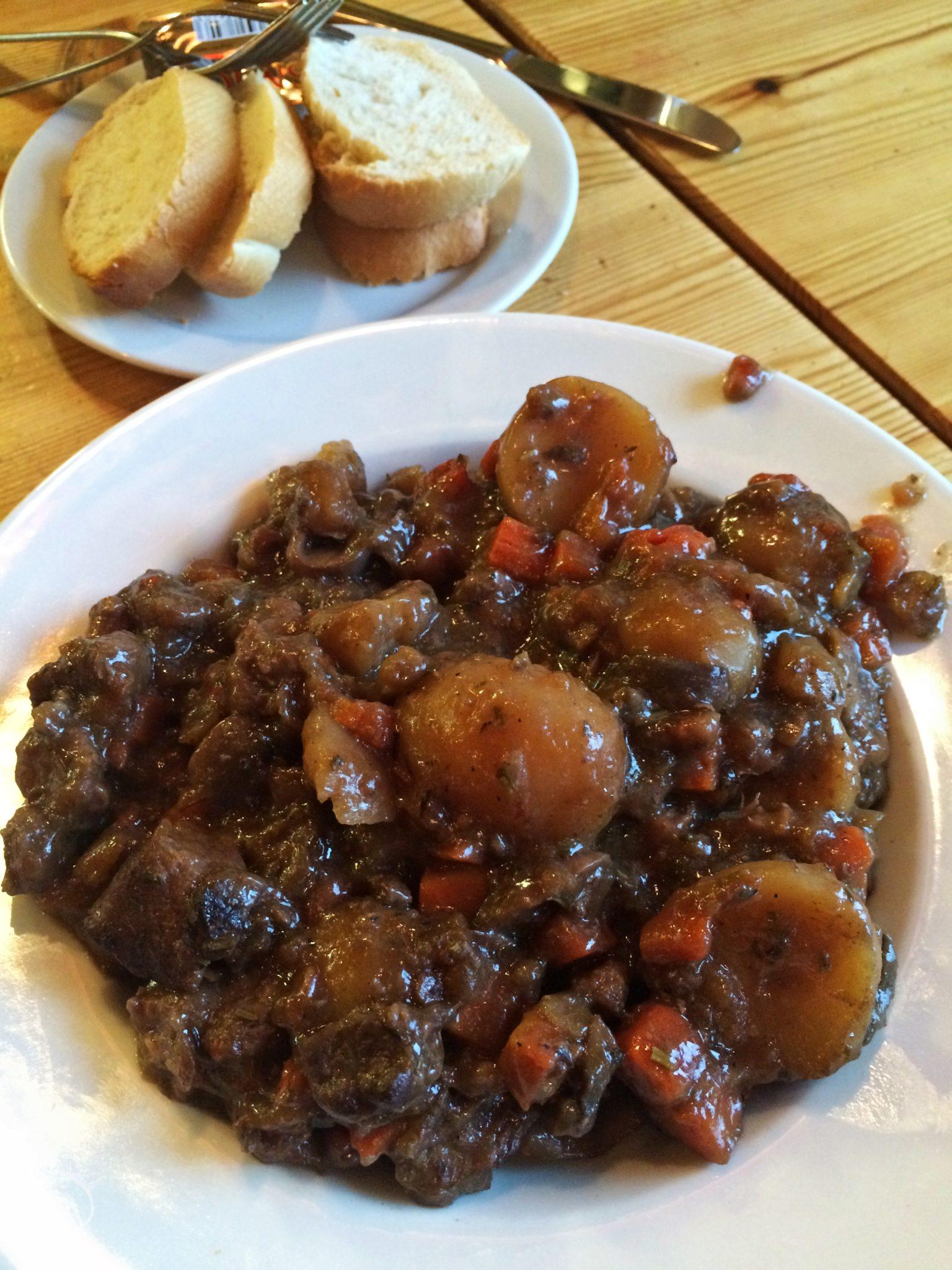Lamb stew in Vik