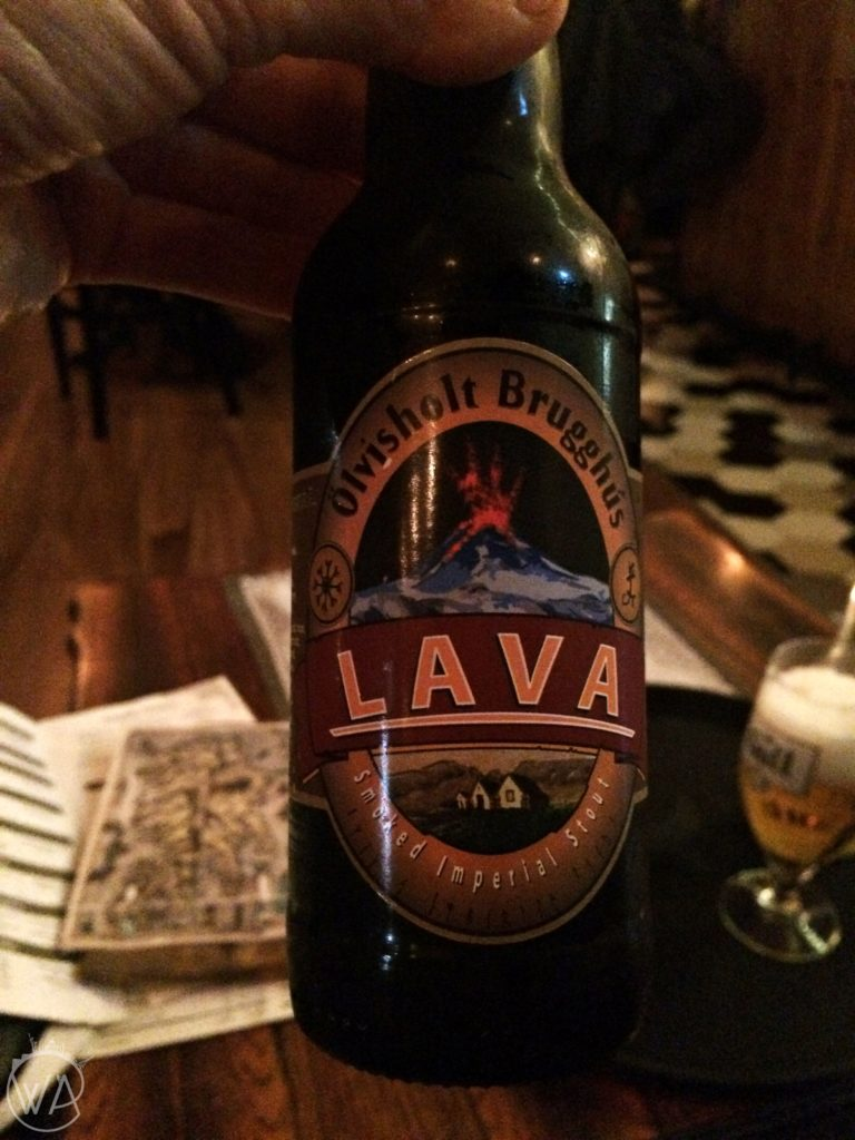 Lava beer Iceland