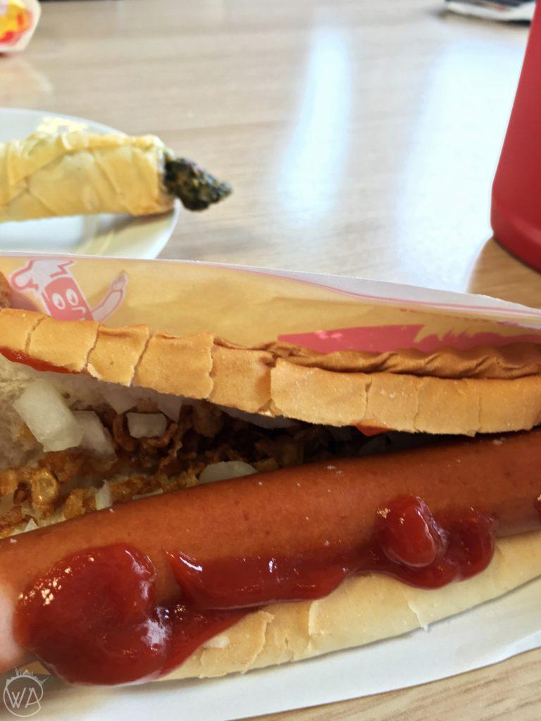 Hot dog Pylsur Iceland