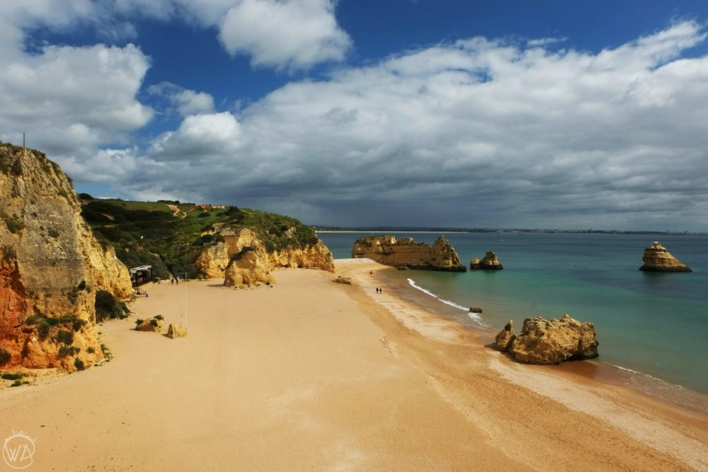 Praia Dona Ana, Lagos Algarve - Best Portugal road trip itinerary - how to spend 4 days in Portugal