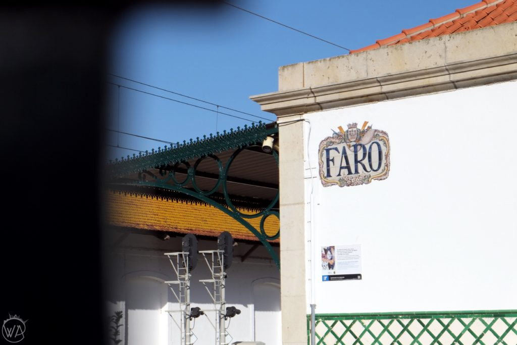 Faro sign - Best Portugal road trip itinerary - 4 days in Portugal