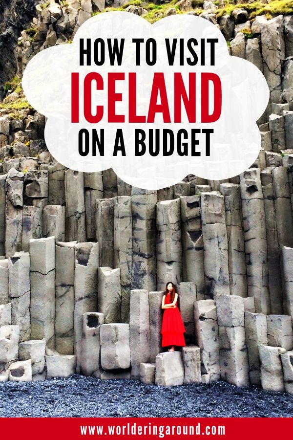 Find out how to travel to Iceland on a budget. Follow the Iceland travel tips, so you can lower your Iceland trip budget and not be beaten by Iceland prices! All the Iceland travel tips for accommodation, food and transport. | Worldering around #Iceland #budgettravel #budget #backpacking #europe #island