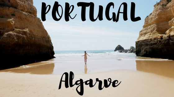 Algarve region in Portugal