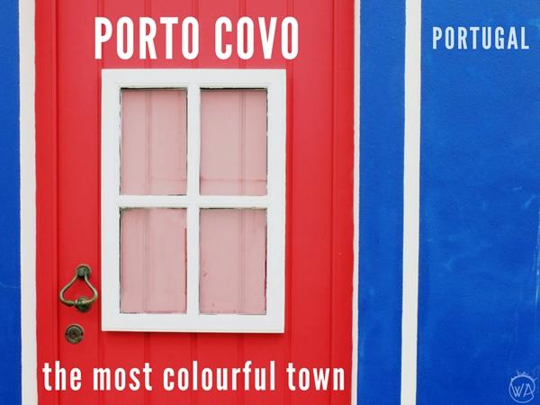 Porto Covo colourful town in Portugal