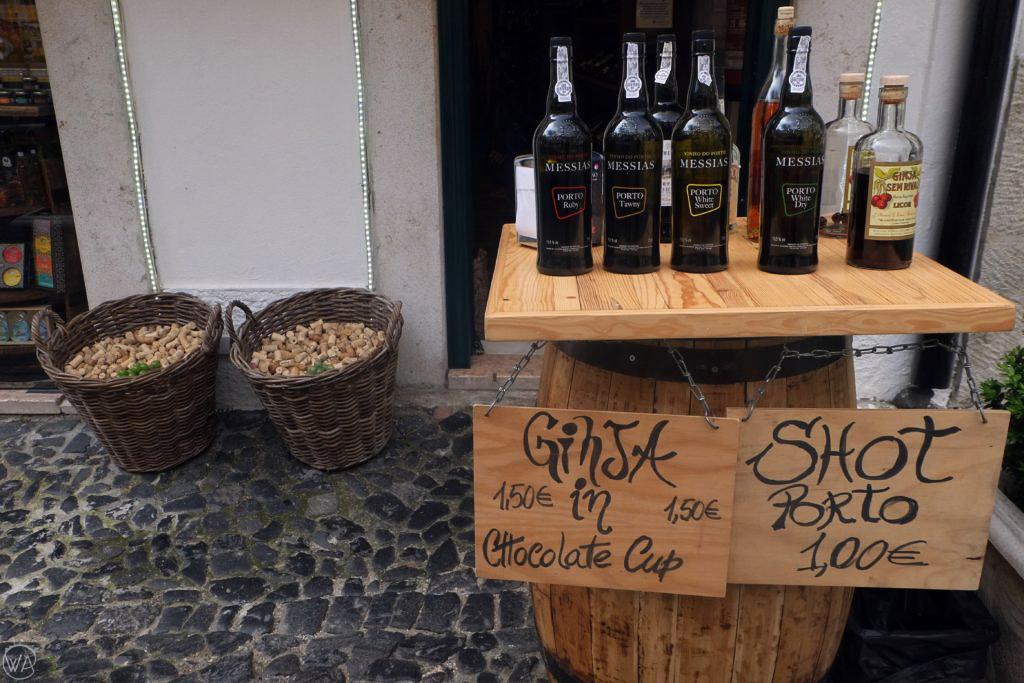 Ginja cherry liquor Lisbon Portugal
