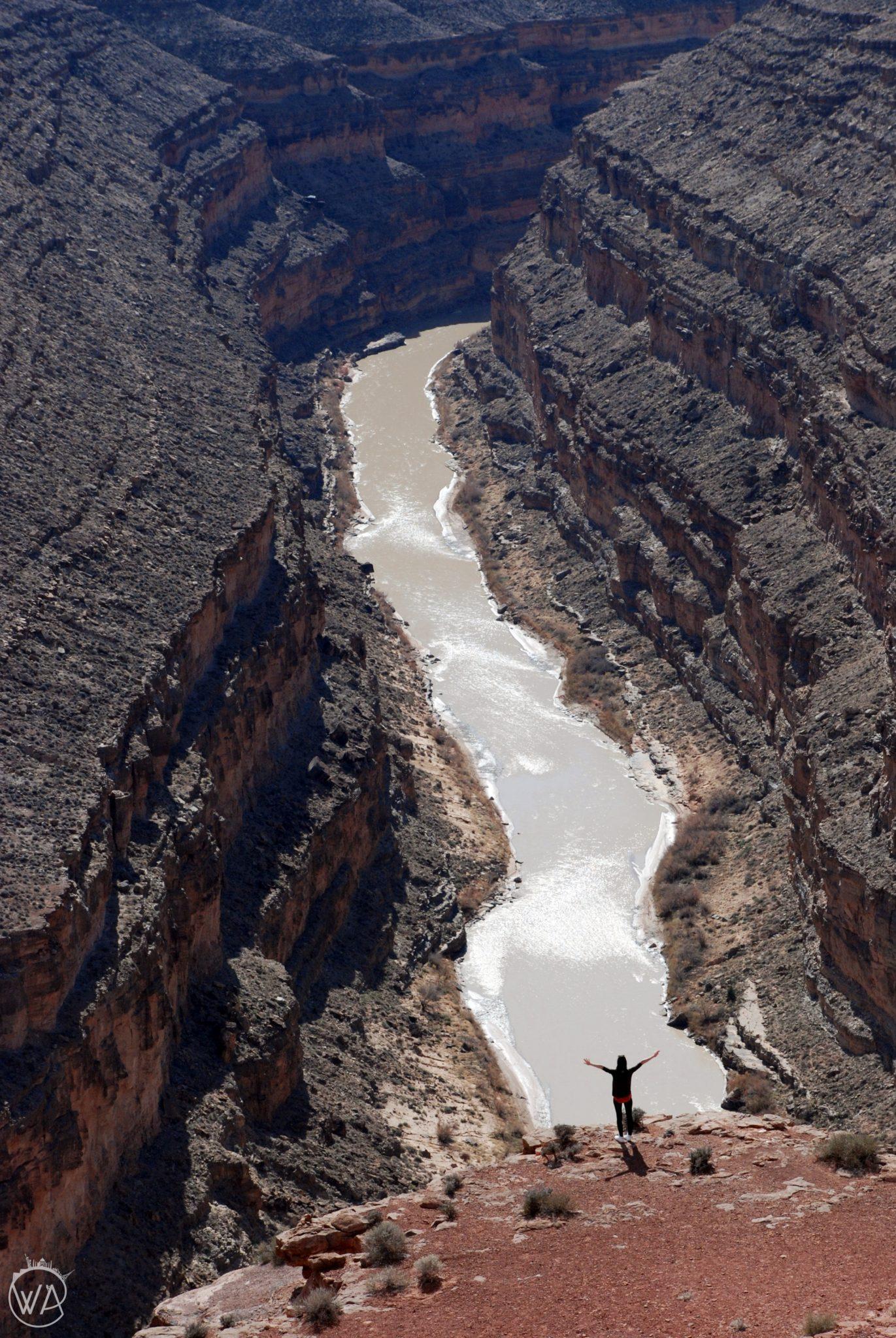 USA canyon Gooseneck national park